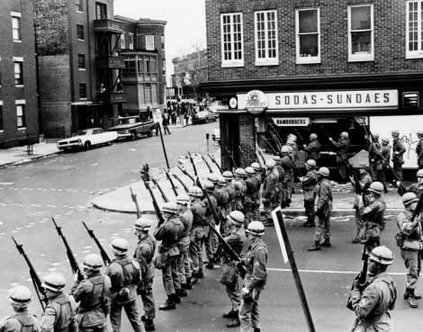 Baltimore Riots 1968