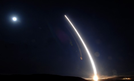 Minuteman III launches from Vandenberg