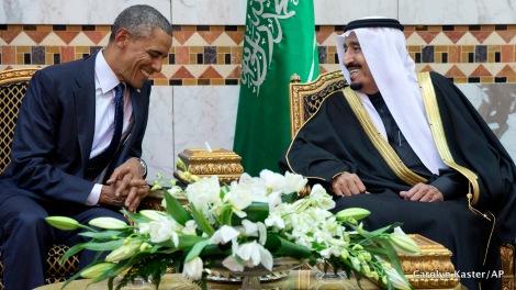 Barack Obama, Salman bin Abdul Aziz