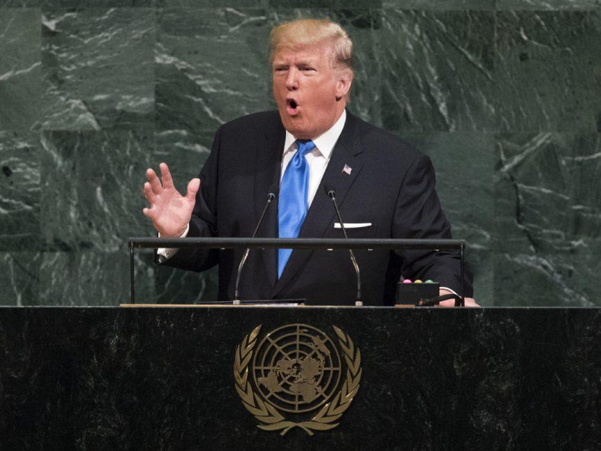 Το παραλήρημα του Τραμπ σε στυλ «ο Αγών μου» στον ΟΗΕ