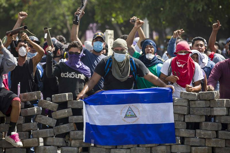 In defense of Nicaragua, against the USA and its coup agents
