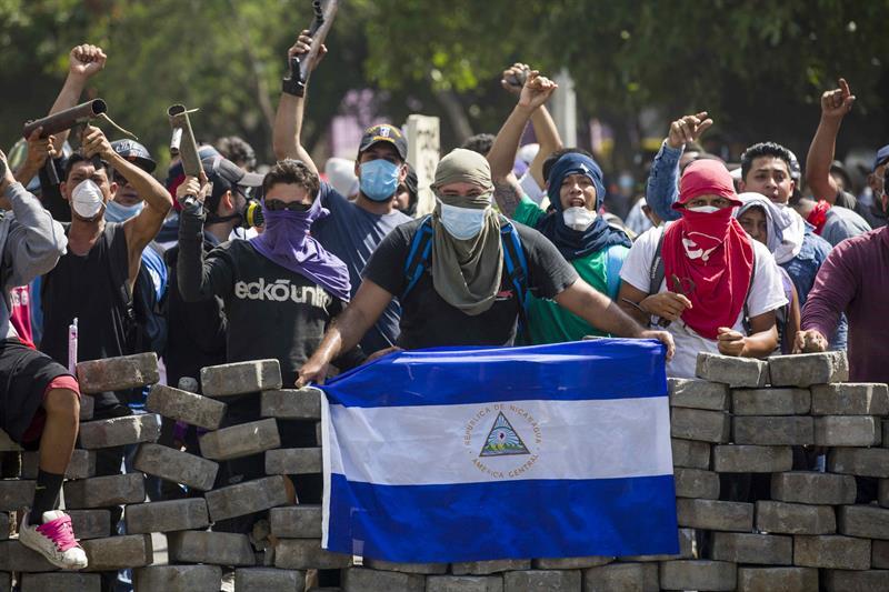 Για την υπεράσπιση της Νικαράγουα απέναντι στις ΗΠΑ και τους πραξικοπηματίες πράκτορές τους