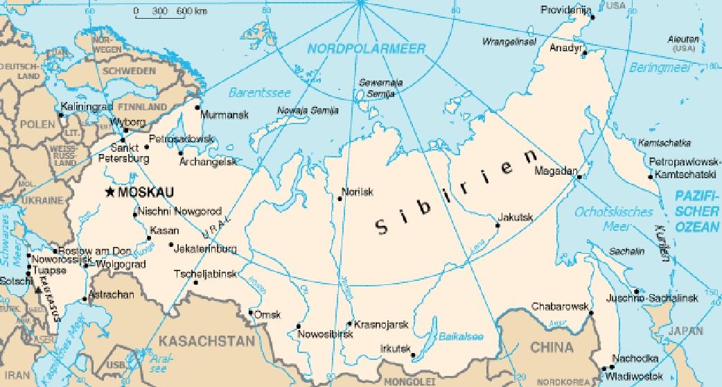 Ρωσία: στόχος, όχι υπερδύναμη