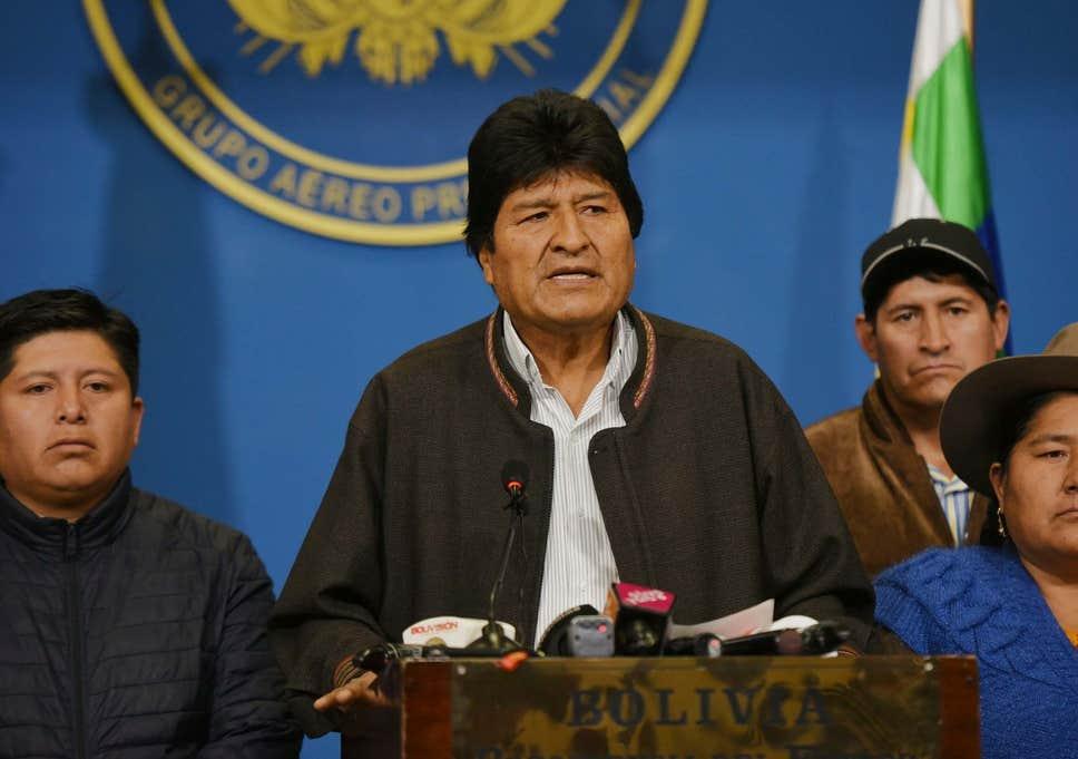 Κάτω το ιμπεριαλιστικό πραξικόπημα στη Βολιβία!