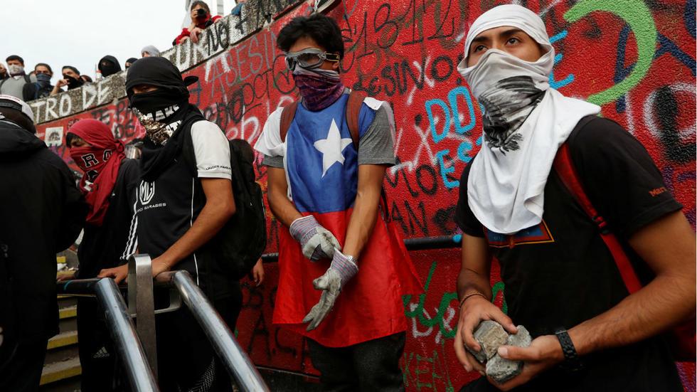 Χιλή μια δική μαςεξέγερση